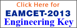 EAMCET2013_EngineeringKey
